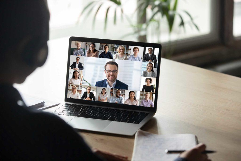 Virtual meetings & home office